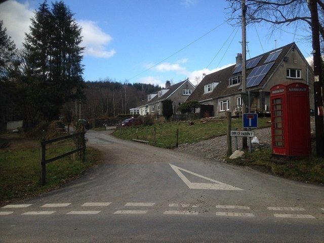 Nant-y-Ffin village